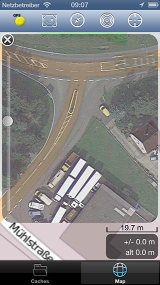 Google Satellite Overlay